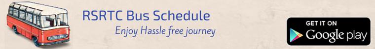 RSRTC Bus Schedule
