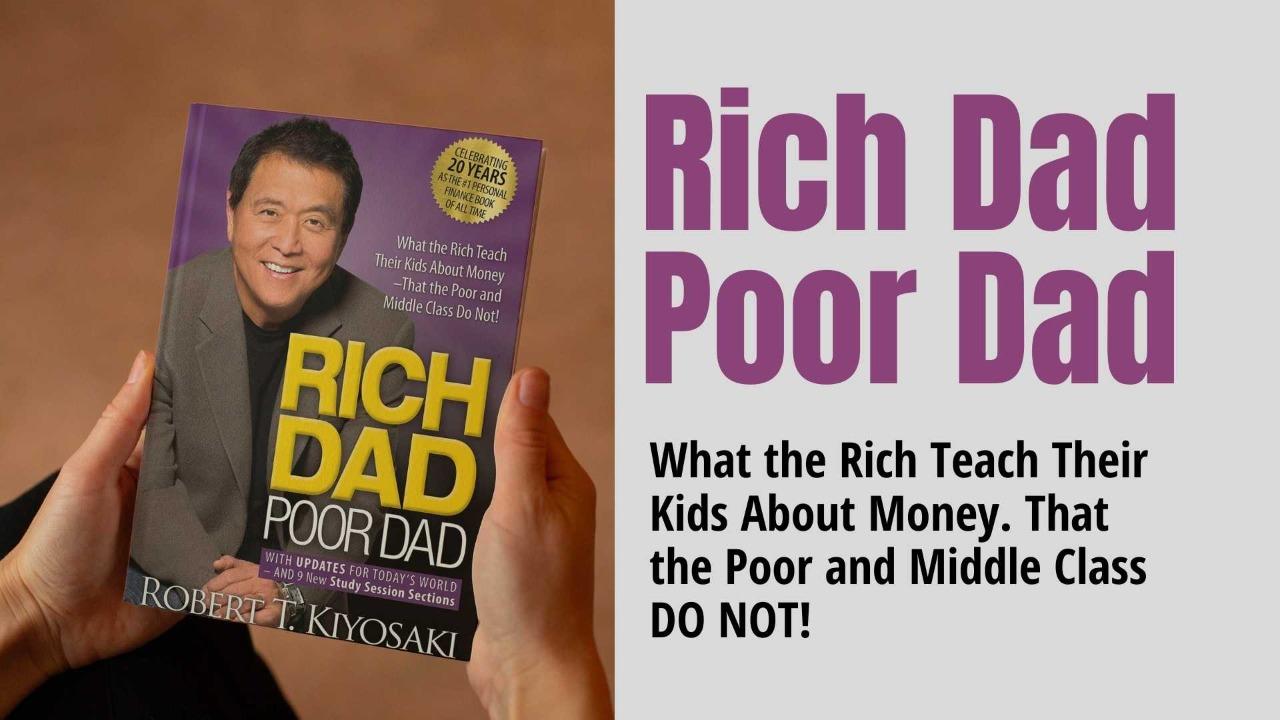 Rich dad Poor dad book Review - Mohali