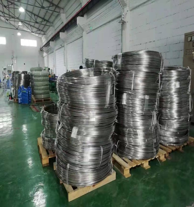 """3/8""""*0.049"""" size stainless steel coiled tubing factory47"""