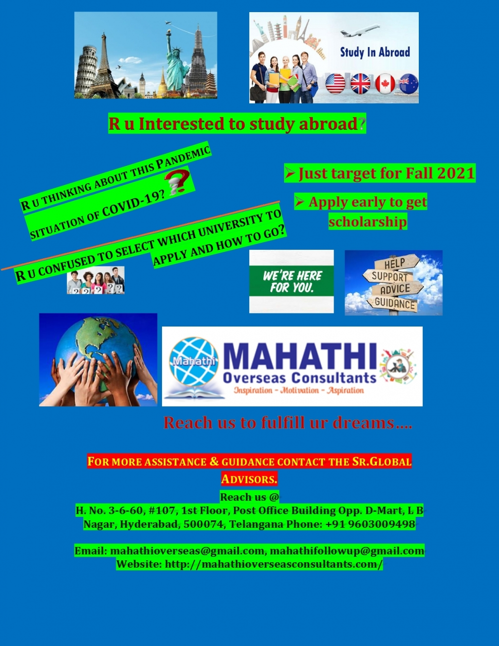 Global Educational Opportunities - Hyderabad